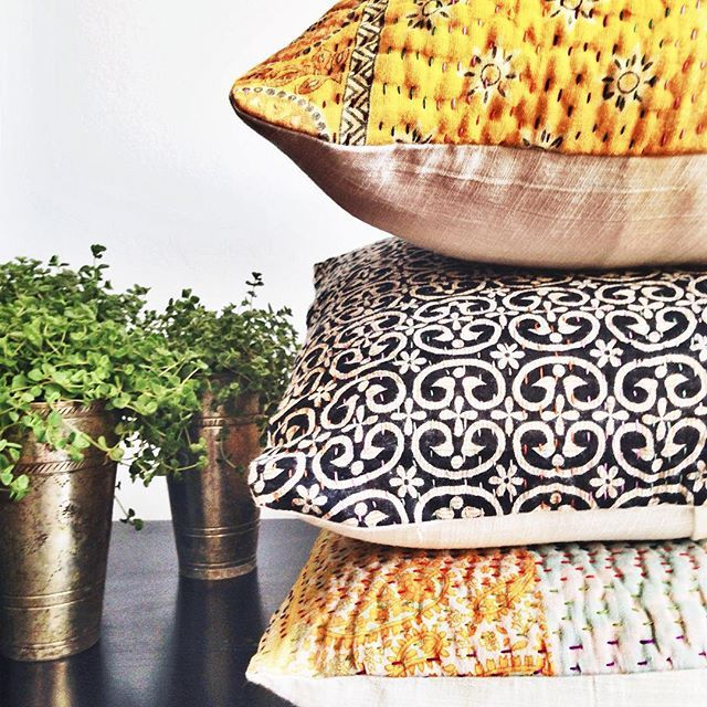 #comingsoon #globalliving #interiors #homewares #decor #throws #kantha #cushions #interiordesign #colour