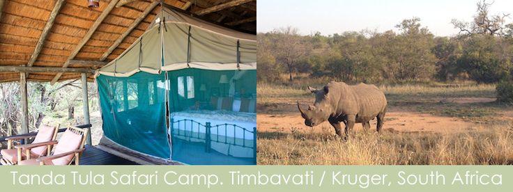 Tanda Tula Safari Camp. Timbavati / Kruger, South Africa