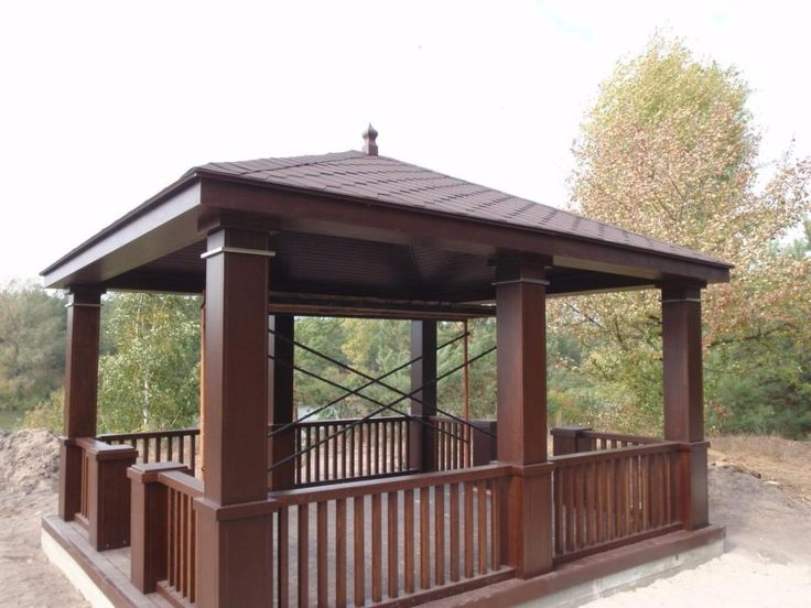 25 best ideas about gazebo plans on pinterest gazebo for Simple gazebo plans