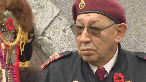 Aboriginal veterans march in Vancouver as part of national day: B.C Grand Chief says many Aboriginal veterans highly decorated (CBC News 08 November 2015)