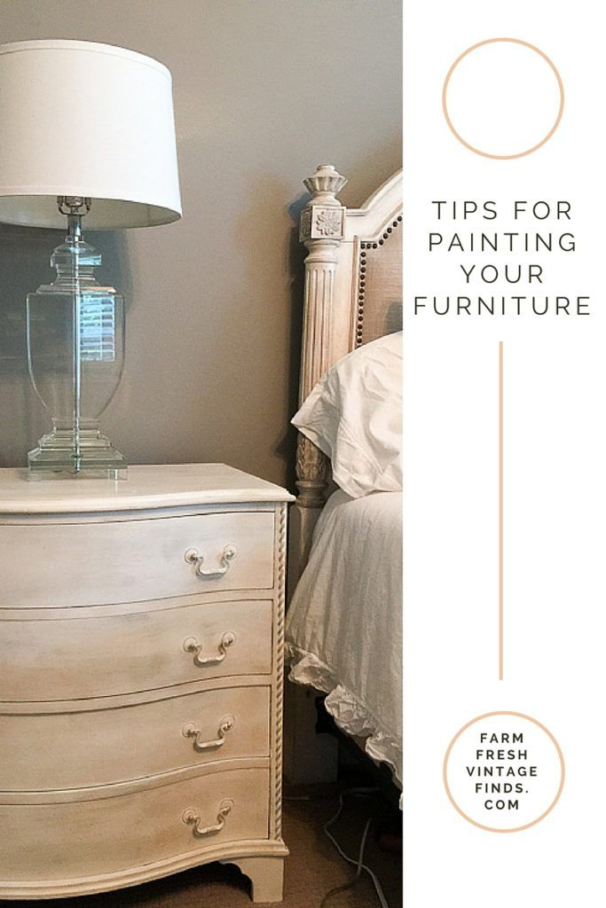 How to Paint your Existing Furniture to Match Your New Furniture - Farm  Fresh Vintage Finds