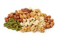 Eating at least 20 grams of nuts a day could cut the chances of dying from respiratory disease by about a half and diabetes by nearly 40%, researchers say.