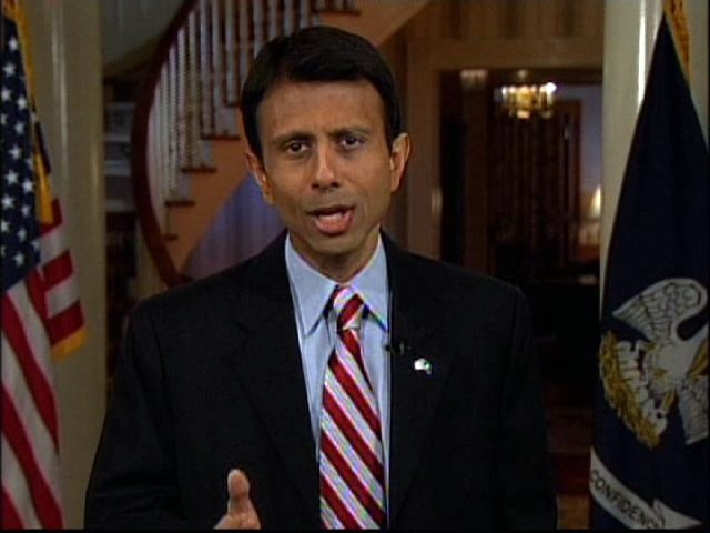 """First, we must stop issuing drivers' licenses to people in our country illegally. Providing them with forms of government identification makes a mockery of our laws and undermines national security efforts."" -- Bobby Jindal, Governor of Louisiana.. he needs to talk with the governor of California, where a law was passes with the gov's approval to allows the over 1 million illegal aliens a ""right"" to have a driver's license."