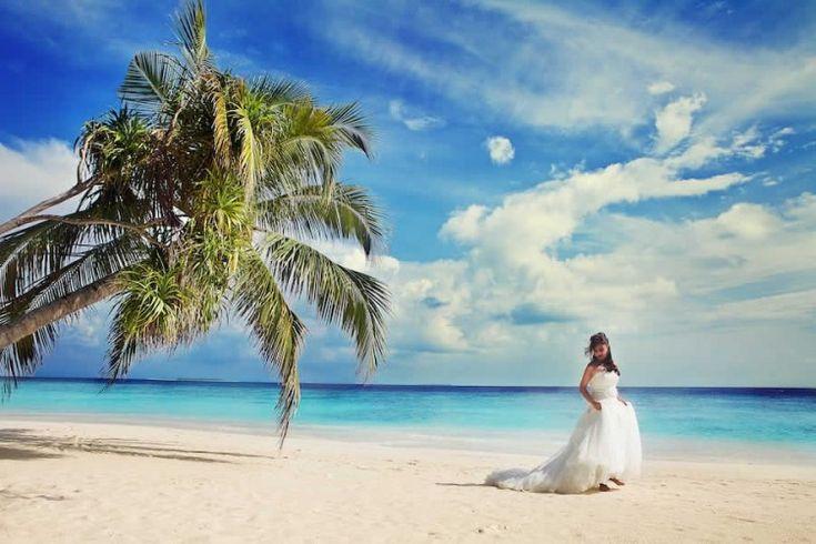 Destination Wedding Photography at the Maldives! Beach Wedding