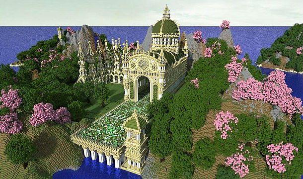 The Salamander Isles Minecraft World Save