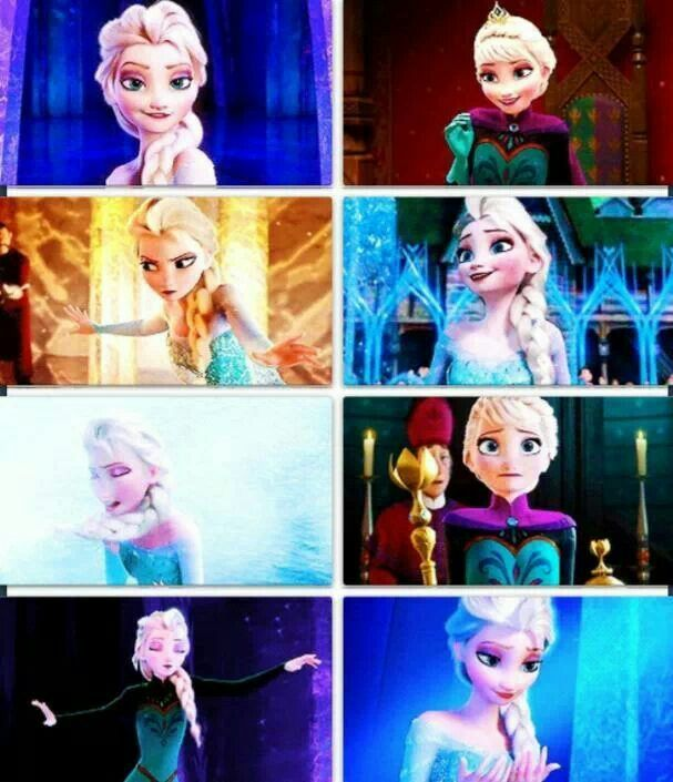 Elsa is one of my favorite characters along with Olaf and Krisroff