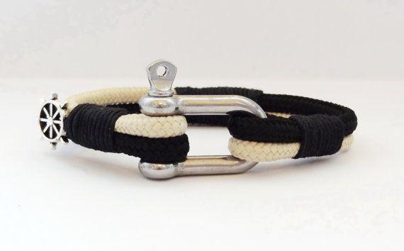 FREE SHIPPING,Men bracelet,Stainless steel, Anchor bracelet,Men jewelry,Gift for Him,paracord bracelets,Men's bracelets,Nautical bracelet