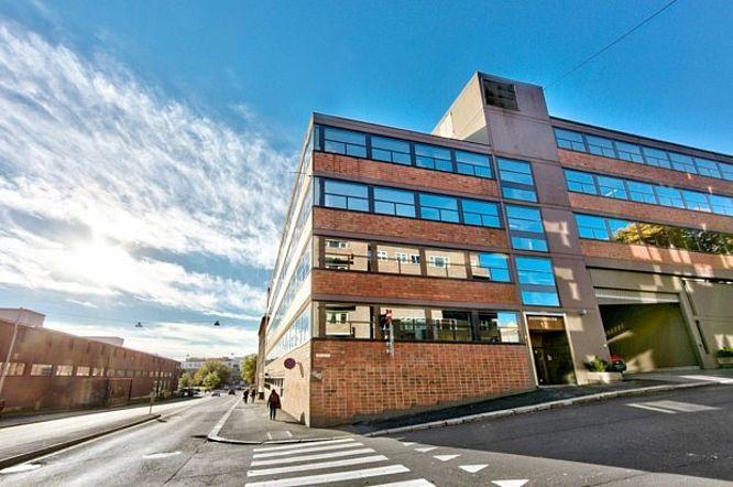 Designit, Oslo: gardiner og rullegardiner. http://kvintblendex.no/prosjekter/designit/