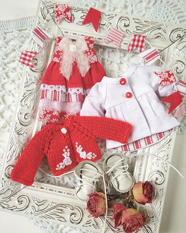 Сделано на заказ. #одеждадлякукол #кукольнаяодежда #вязание #вышивка #вышивкароко... - Дина Крылова (@dina70k)