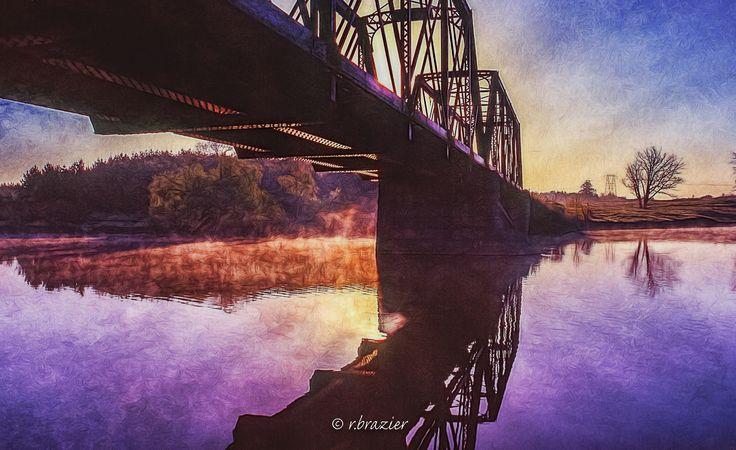 Mohrs Rd. Railway Bridge - Galetta, ON. Ottawa Valley, railway bridge, Mississippi River. Photo © r.brazier