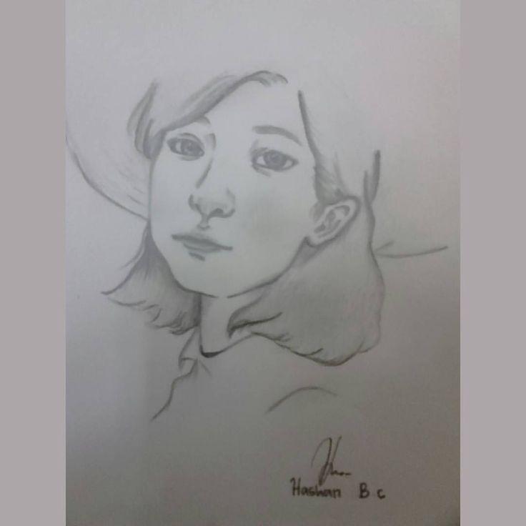 "12 Suka, 1 Komentar - Si pelukis gagal🔵 (@hashan1194) di Instagram: ""Natural #asian #asiangirl #woman #instago #instalike #instagram #instagood #mysketch #mydrawing…"""
