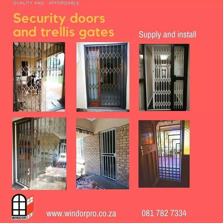 Security doors and Trellis gates available from Windorpro .  #securitygate #trellisdoors #door #gate #gates #doors #doorsoftheworld #doorsupply #windorpro
