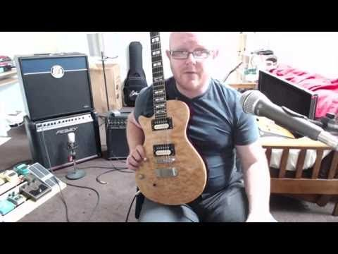 Review of Deacci Pure Vintage pickups, Hagstrom Select Ultra Swede - YouTube