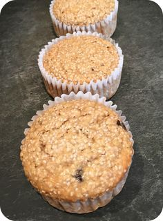 Muffin avoine graines de chia