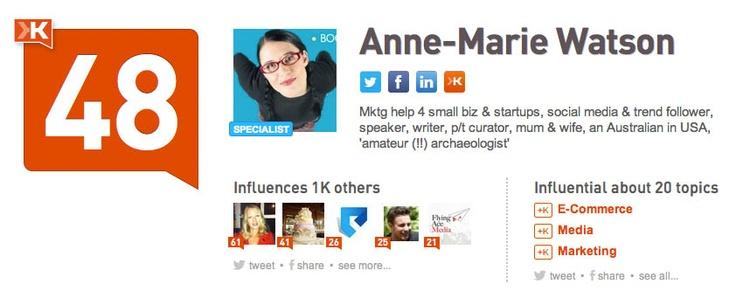 Mktg help 4 small biz & startups, social media & trend follower, speaker, writer, p/t curator, mum & wife, an Australian in USA, 'amateur (!!) archaeologist'