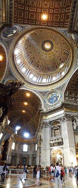 St. Peter's Basilica, Vatican, Rome, Italy Luxury Homes SCARCELLI REAL ESTATE GROUP