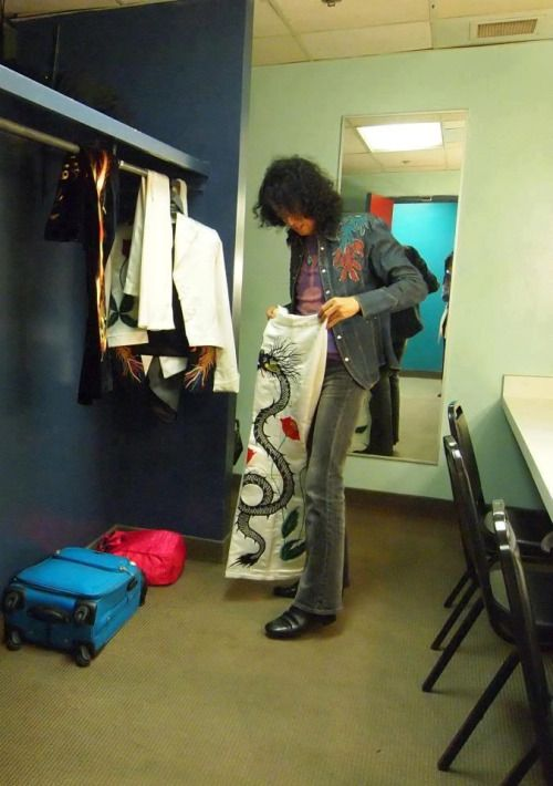 """soundsof71: """"Jimmy Page and The White Dragon Pants """""""