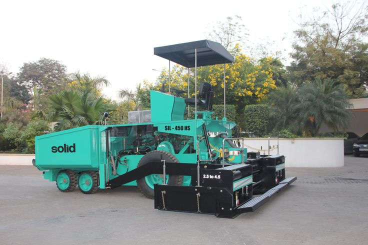 Asphalt Road Paver Finisher - Solid India Ltd  Asphalt Road Paver Finisher is the first and foremost choice of road construction companies of India. Excellent technology, efficient construction and easy operations are the crucial requirements for its popularity and performance.