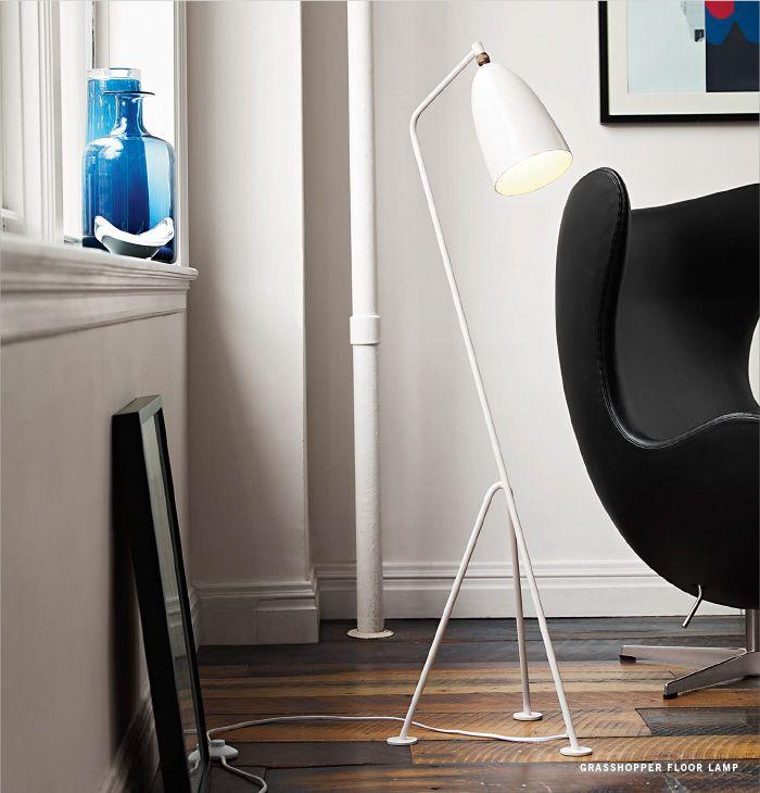 GUBI // Grasshopper Floor Lamp, Greta Magnusson Grossman