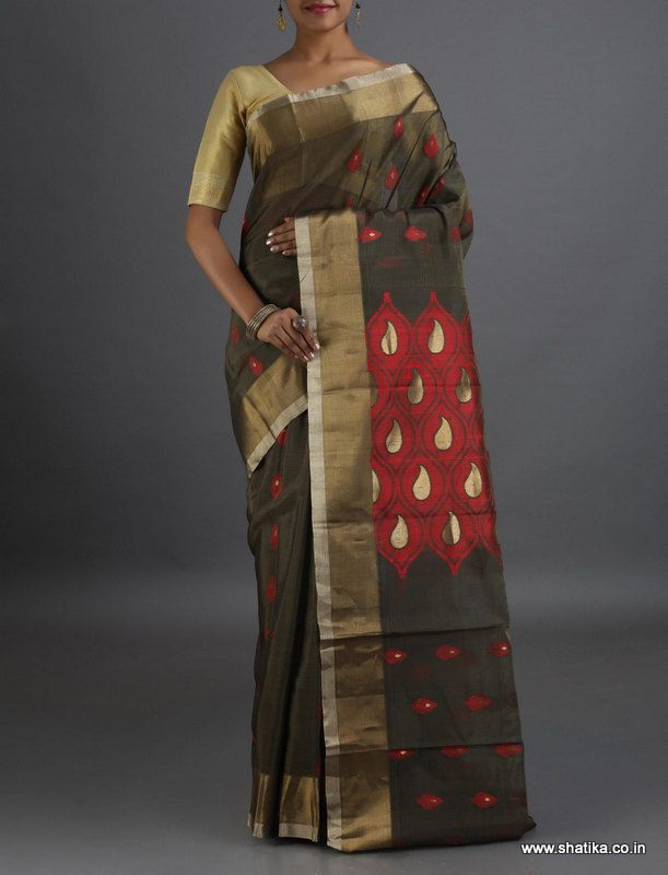 Anandi Trendy looking Traditional #CoimbatoreSilkCottonSaree