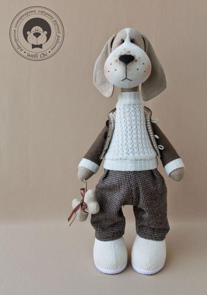 Куклы мастера Wolli Chi (есть и выкройки)
