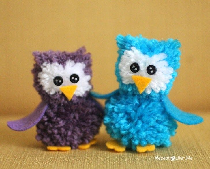 Coming at you with another adorable owl yarn craft today! These cut little Pom Pom Owls are easier to make than you think! Let me walk you through the tutorial. First you will need a pom-pom maker. I used my small Clover Pom-Pom Maker but you could use a larger size. You can purchase them …