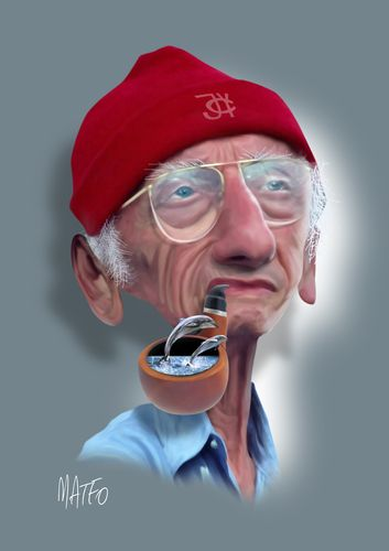 Jacques-Yves Cousteau ♥ - www.remix-numerisation.fr - Rendez vos souvenirs durables ! - Sauvegarde - Transfert - Copie - Restauration de bande magnétique Audio - MiniDisc - Cassette Audio et Cassette VHS - VHSC - SVHSC - Video8 - Hi8 - Digital8 - MiniDv - Laserdisc