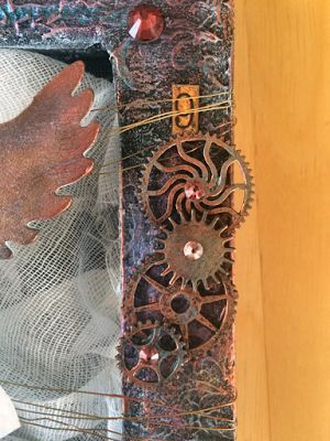 Artfull Crafts: Lisa - mixed media canvas