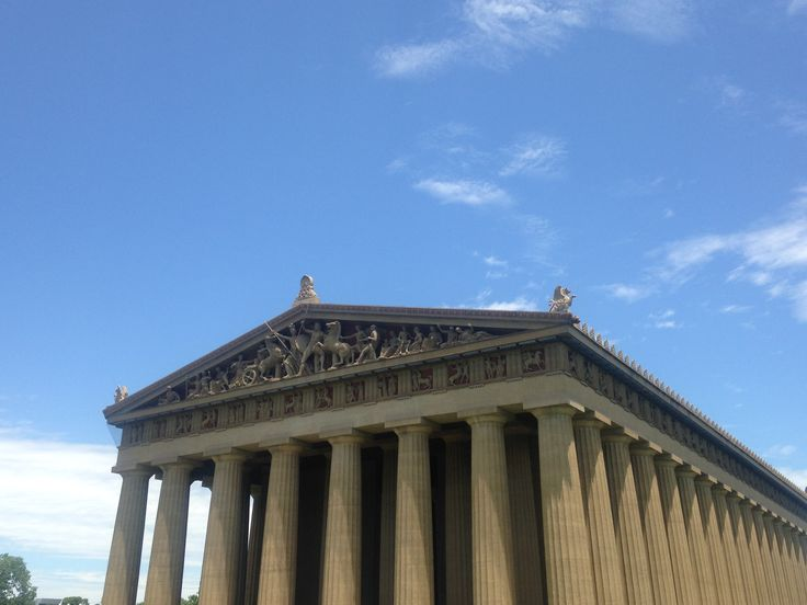 Went to the Parthenon in Nashville, it was so amazing!