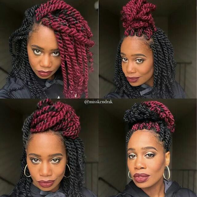 Do You Prefer Short Havana Twists? - 13 Short Havana Twist Styles That Are Really Cute [Gallery]  Read the article here - http://www.blackhairinformation.com/general-articles/playlists/do-you-prefer-short-havana-twists-13-short-havana-twist-styles-that-are-really-cute-gallery/
