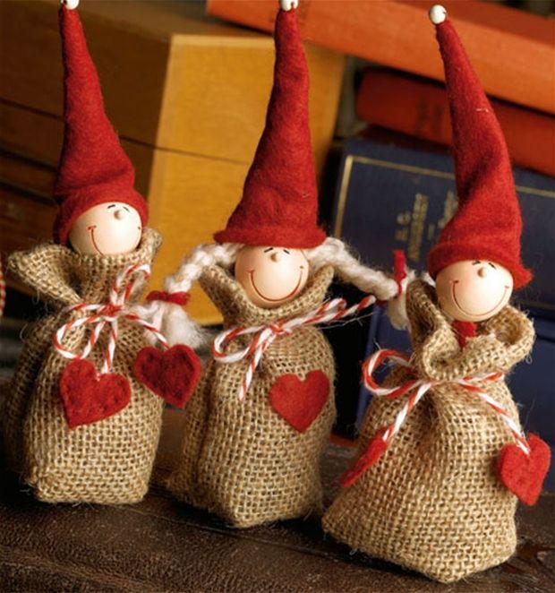 Julehobby: Søde sækkenisser - Hjemmet DK
