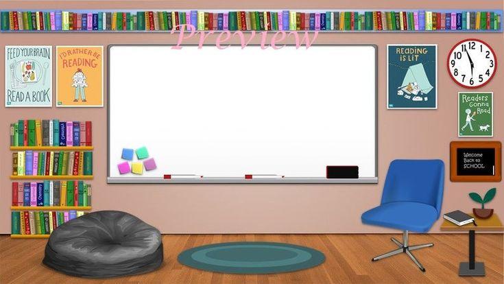 bitmoji classroom template english reading virtual theme writing powerpoint templates aula presentation kelas middle help
