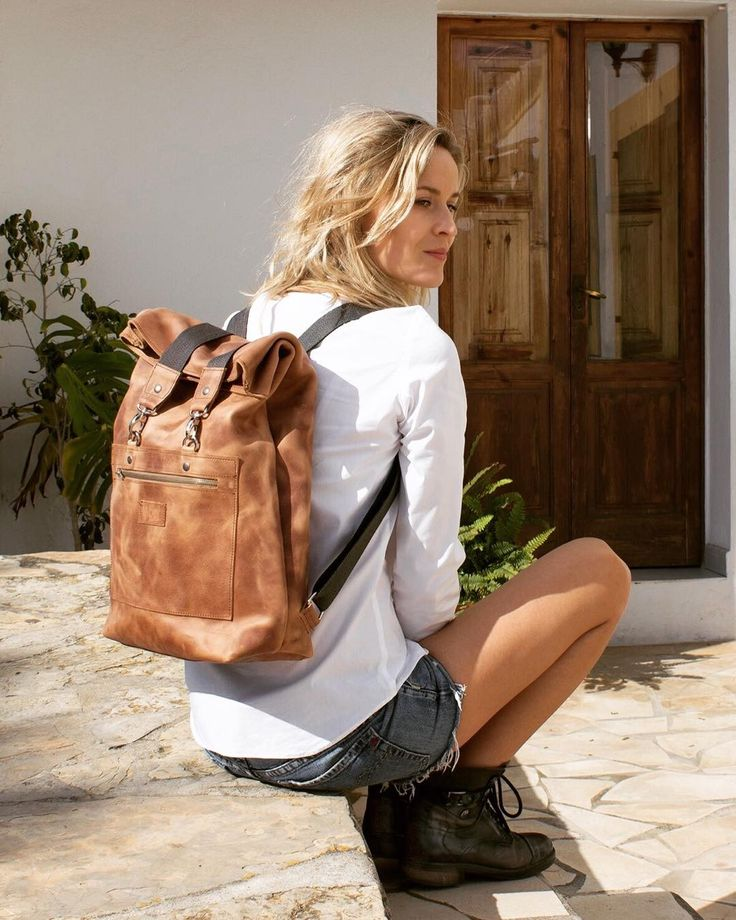 Sitting in the morning sun...Abel backpack packed: ready for a long weekend! #nomad#conceptstore#wanderlust#adventure#backpack#ecodesign#fairfashion#lovewhatyoudo#sustainabledesign#ibiza#groningen#leatherbags#leatherbag#handmade#handcrafted#handgemaakt#ambacht