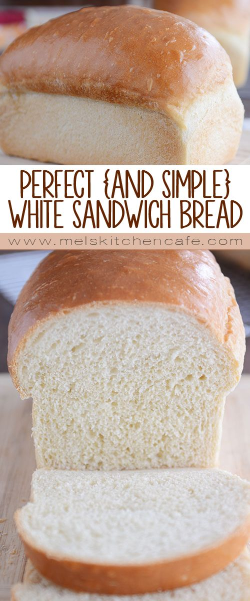 This is the best white sandwich bread ever! It is surprisingly easy to make and is perfect for sandwiches and toast (French toast, too!)!
