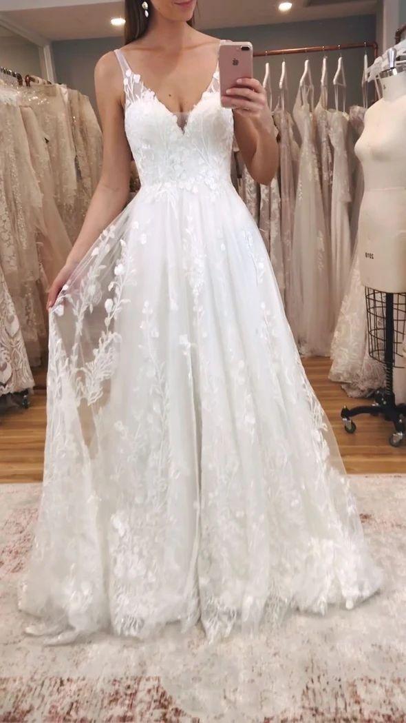 Pin On Trendy Wedding Dresses