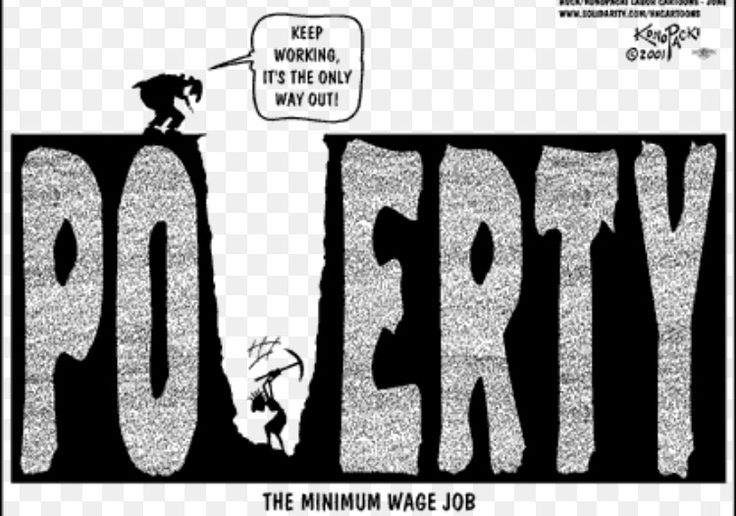 Image result for cartoons about stagnant wages income inequality