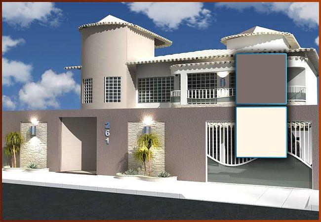 Colores para casas exteriores 2016 3 casas pinterest - Pintura exterior colores ...