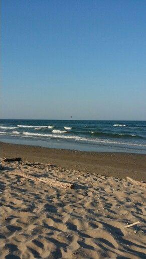 La bellissima spiaggia Bandiera Blu di Lido di Classe