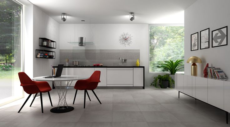 Ragno Ceramica tiles, virtual image, rendered with DomuS3D and mental ray