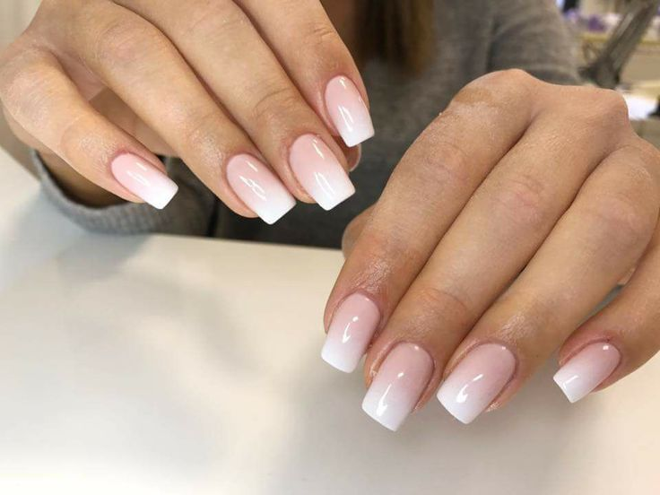 Light Pink Ombre Nails | Best Nail Designs 2018