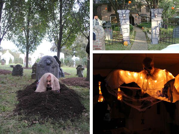 102 best Halloween images on Pinterest Halloween decorating ideas - halloween haunted house ideas