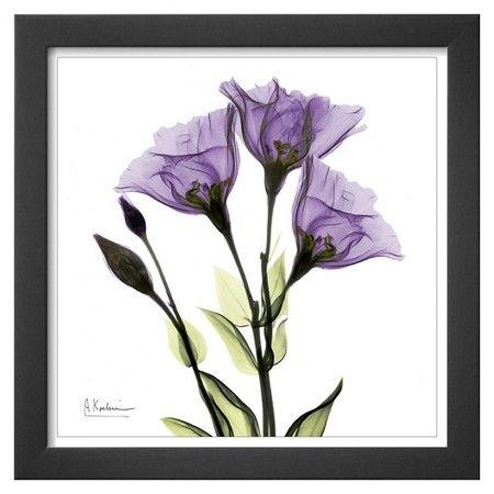 Art.com - Gentian Trio in Purple Framed Print : Target