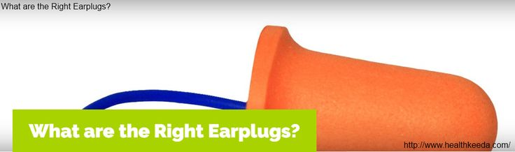 People nowadays require earplugs for various reasons. It is often observed that the person you are sleeping with, has a snoring problem or your neighbor's notorious children turned on their favorite metal band when you have just returned from your office and need some quite time after long hectic day. Many More http://www.healthkeeda.com/