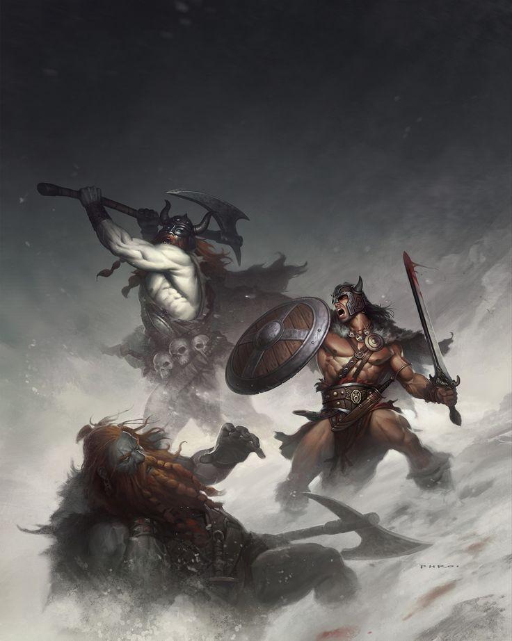ArtStation - The Frost Giants, Phroilan Gardner