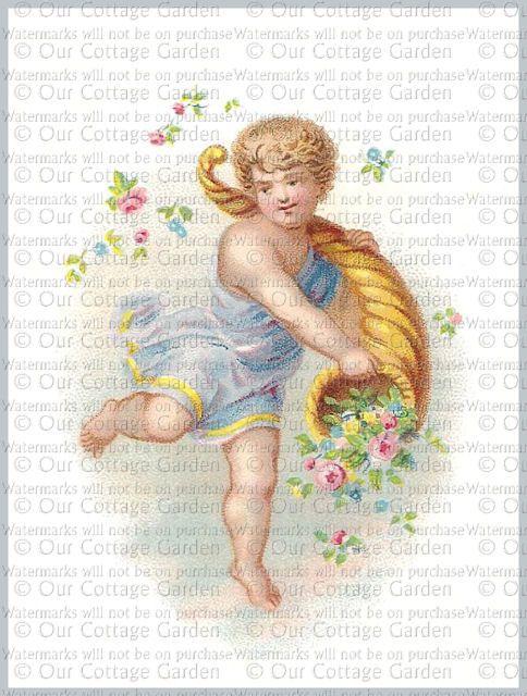 876 Best Images About Cherubs Amp Roses Artwork Statues Etc On Pinterest
