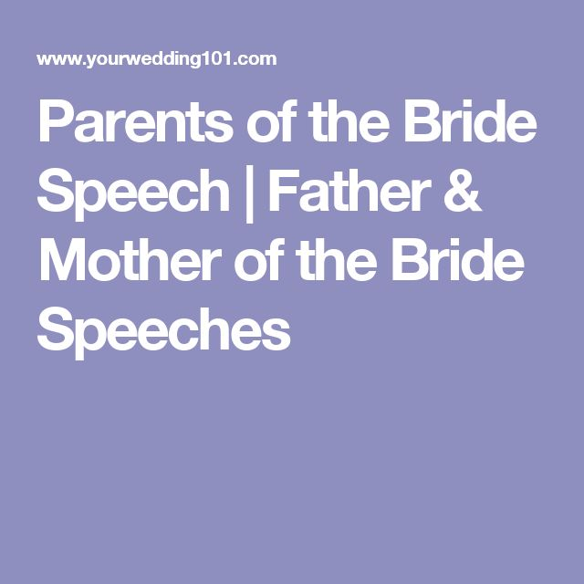 Best 25+ Bride Speech Ideas On Pinterest