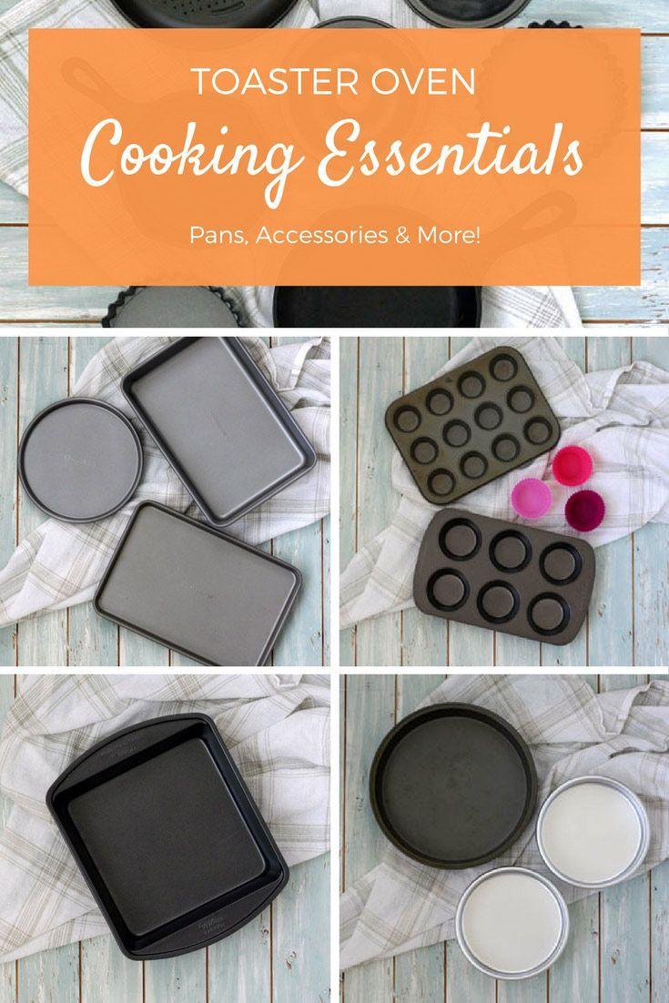 Discover the best toaster oven pans for creating dishes so delicious no one will believe you cooked them in a tiny toaster oven! Toaster Oven Cooking | Toaster Oven Pans | Toaster Oven Baking  via @toasterovenlove