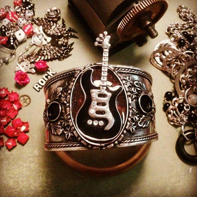 #work in progress #rockstarsandbutchers #jewelry #bangel #bracelet