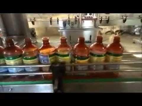 Gear pump Liquid filling machine , gear pump filler for Viscous liquid