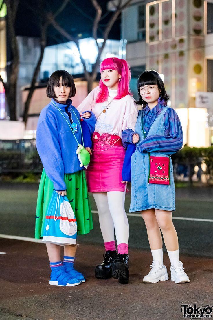 Teen fashion in japanese